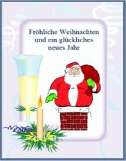 Lustige weihnachten gru karten - Weihnachtskarten drucken gratis ...